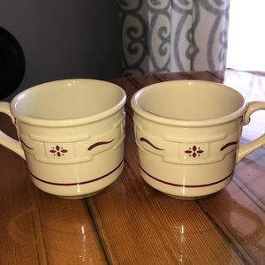 Longaberger Cups (2)